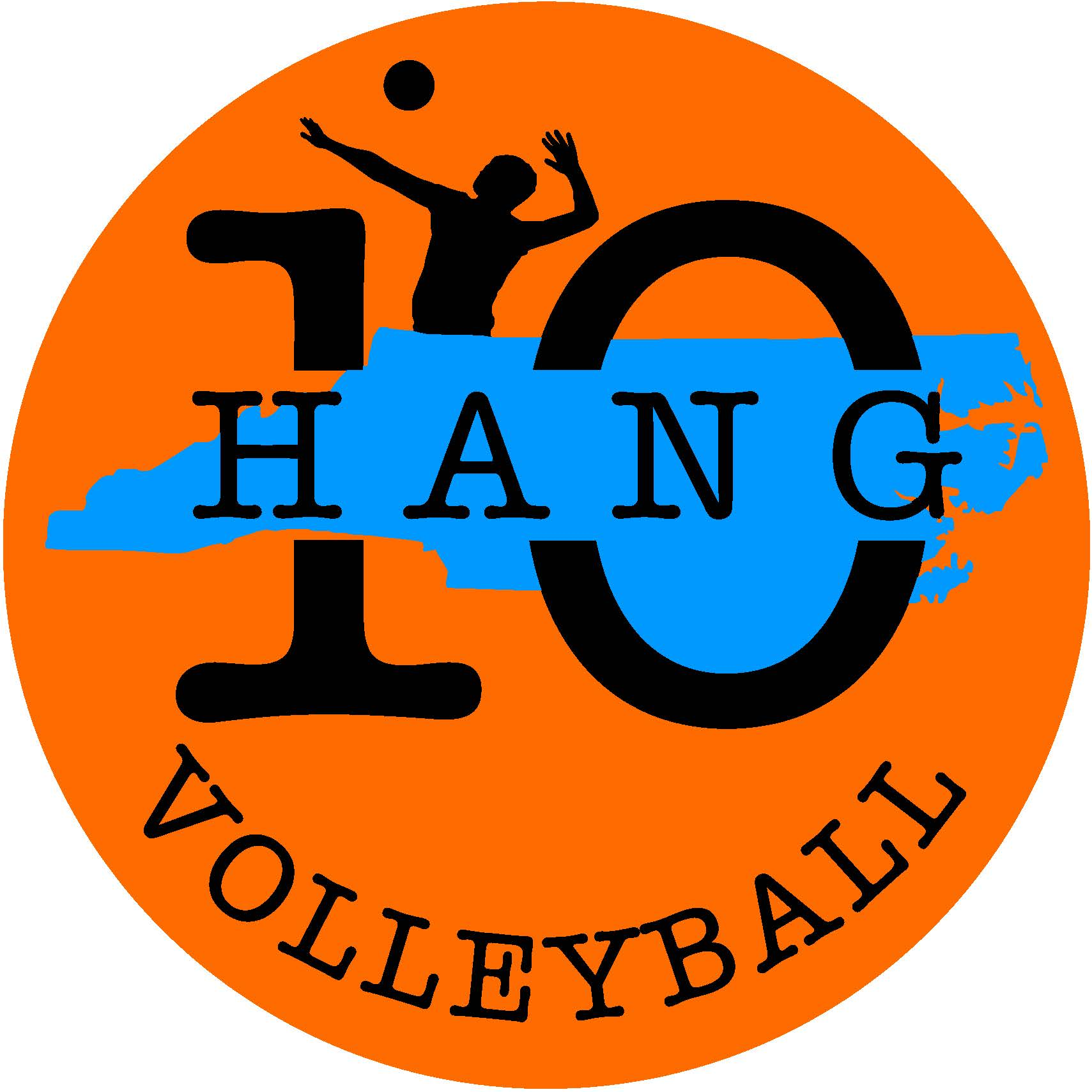 Hang 10 Volleyball